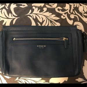 Coach Legacy large clutch/wristlet.